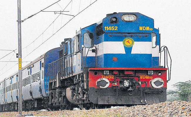 Train Runs Between Secunderabad To Gajwel Is scheduled To Start In March - Sakshi