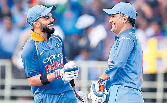 Virat Kohli Birthday Wish For MS Dhoni Was 2019 Favourite Tweet For Sports Field - Sakshi