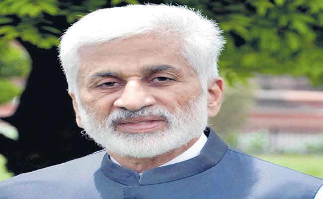 Vijayasai Reddy Comments On Polavaram Project - Sakshi