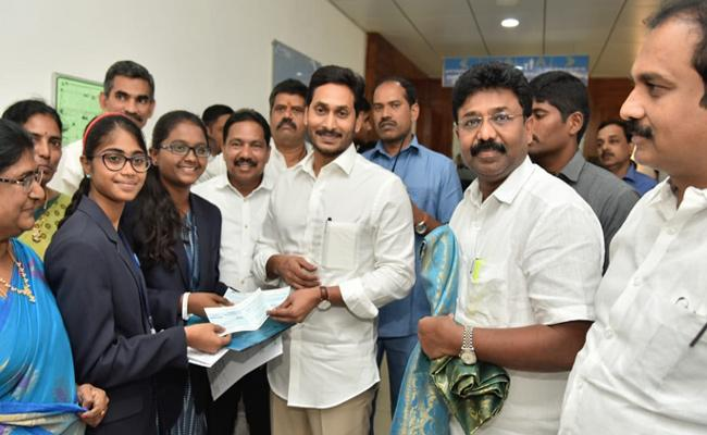 CM YS Jagan appreciates Social Welfare Residential School Students - Sakshi