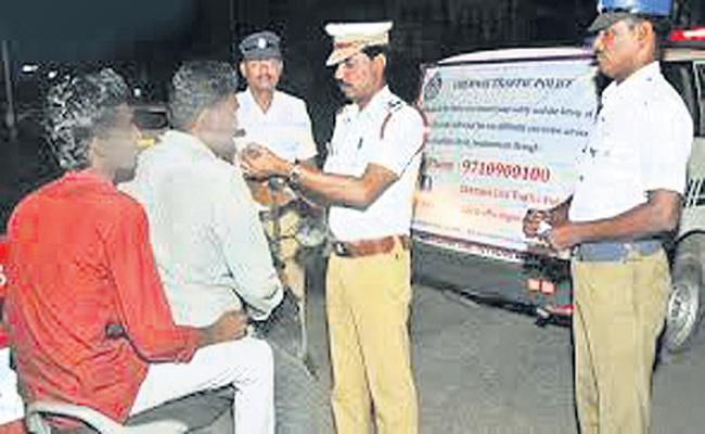 Daily 73 Drunk And Drive Cases Files in Hyderabad - Sakshi