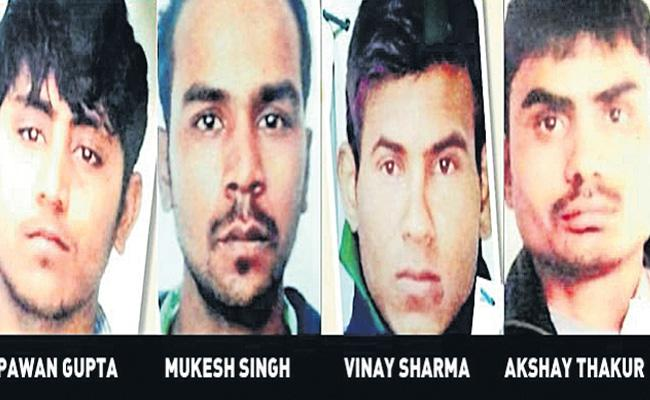 All The Nirbhaya Convicts In Tihar Jail - Sakshi