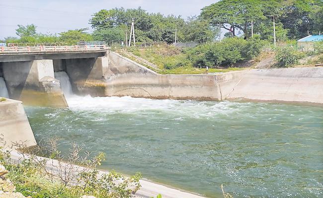 Sagar water for Rabi Crop - Sakshi