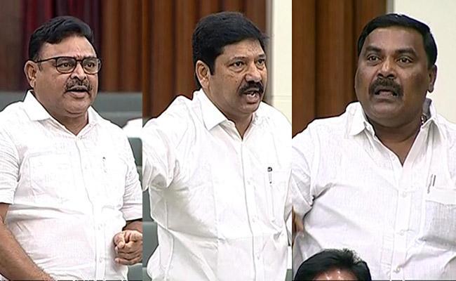 AP Assembly Sessions YSRCP MLA Jogi Ramesh Slams Chandrababu Naidu - Sakshi