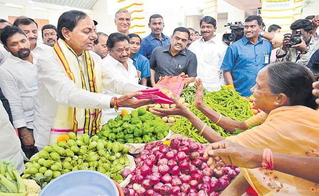 Telangana CM KCR Tour In Gajwel - Sakshi