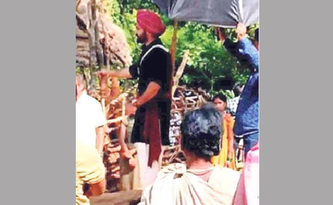 RRR Movie Shooting Video Viral - Sakshi
