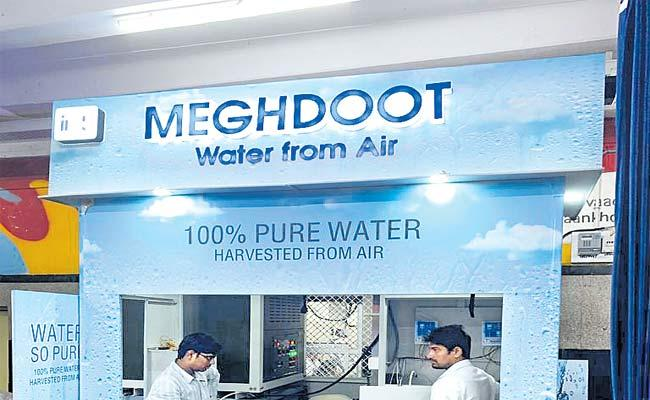 Meghdoot Water From Air Kiosk Inauguration In Secunderabad Railway Station - Sakshi