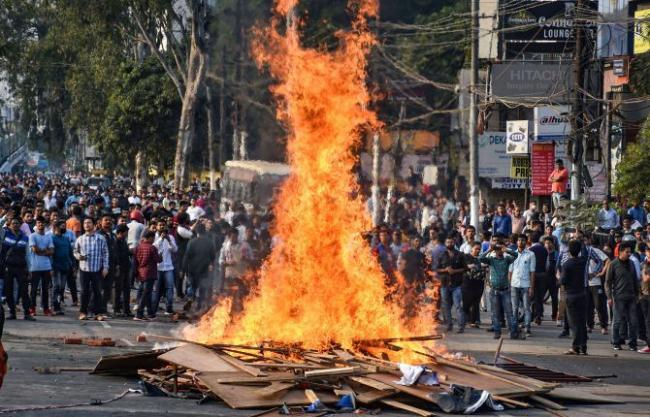 Northeast Boils As Anti Citizenship Bill Stir Rages In Assam - Sakshi