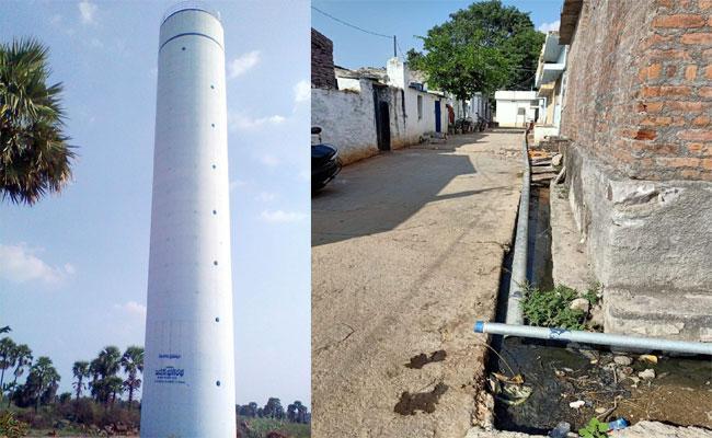 Mission Bhagiratha Work Pending In Nalgonda District - Sakshi