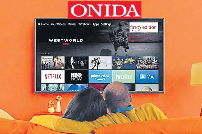 Amazon launches Fire TV Edition smart TVs in India with Onida - Sakshi