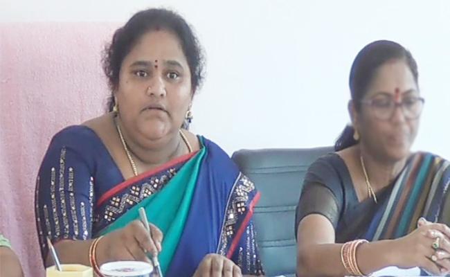 ZP Chairperson Shobha Comments on Disha Case - Sakshi