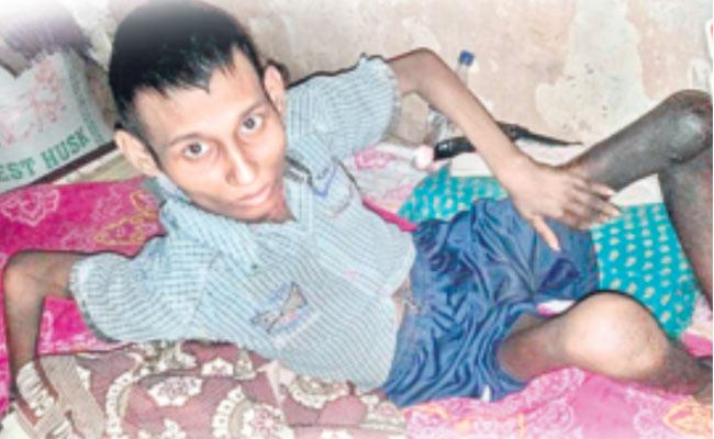 Young Man Suffering From Bone Cancer - Sakshi