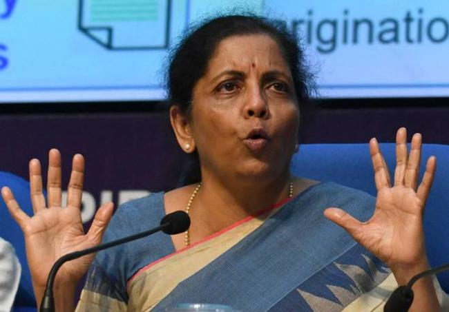 FM Sitharaman Says We Will Continue To Address Problem Of Industries - Sakshi