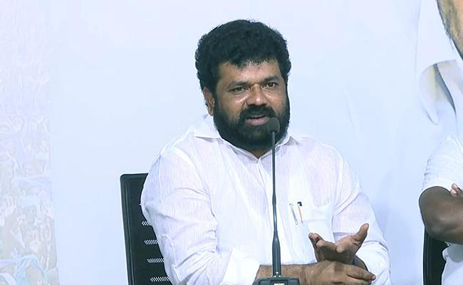 MP Nandigam Suresh Warns Manda Krishna Madiga - Sakshi