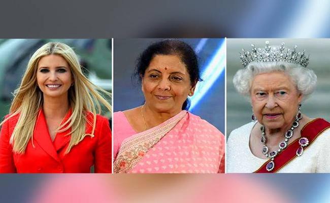 Nirmala Sitharaman more powerful than Queen Elizabeth, Ivanka Trump: Forbes - Sakshi