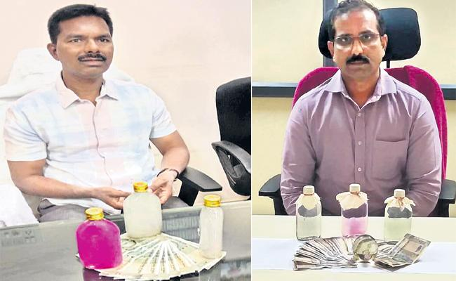 ACB Catched Two DE Officials While Demanding Bribery - Sakshi