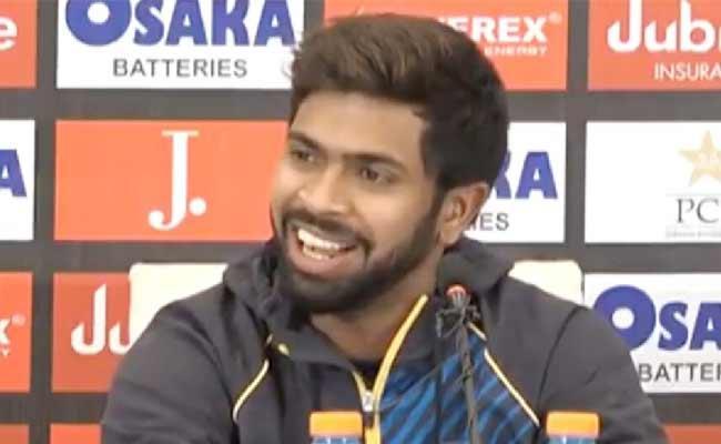 Sri Lanka Cricketer Dickwella Answer Over Pakistani Journalist Double Blunder - Sakshi