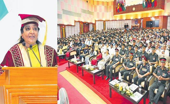 Governor Was Chief Guest At 96th Convocation Ceremony At MCEME - Sakshi