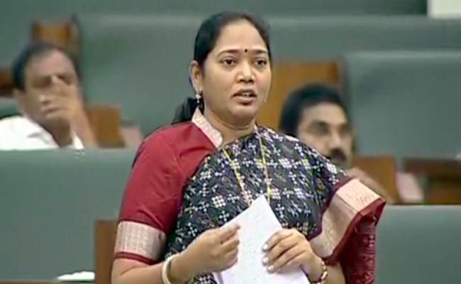 Minister Mekathoti Sucharitha Introduce AP Disha Act In Assembly - Sakshi