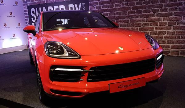Porsche Cayenne Coupe Launched In India - Sakshi
