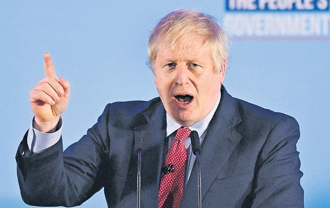 Boris Johnson's Conservative Party wins UK election - Sakshi