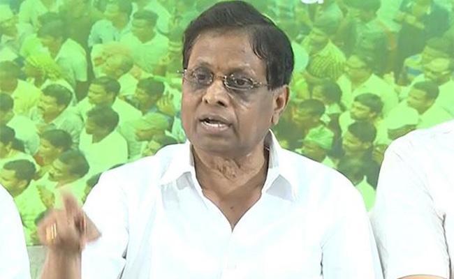 YSRCP Leader Dadi Veerabhadra Rao Opposes Dharmendra Pradhan Statement - Sakshi