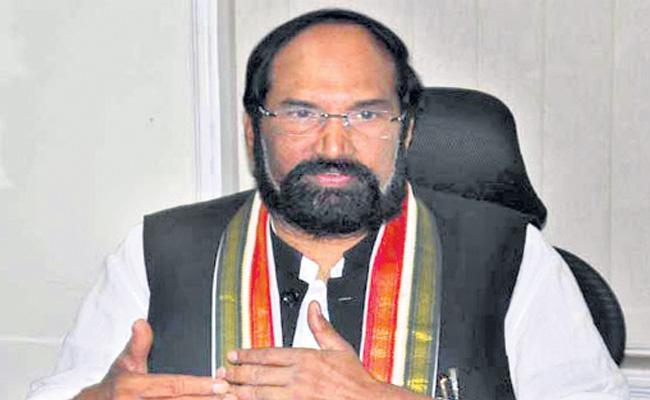 TPCC Uttam Kumar Reddy Fires On TRS Government - Sakshi