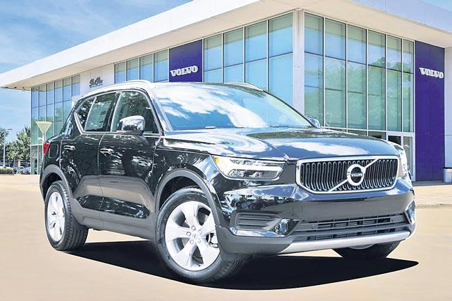 Volvo XC40 T4 R-Design BS6 petrol launched in India - Sakshi