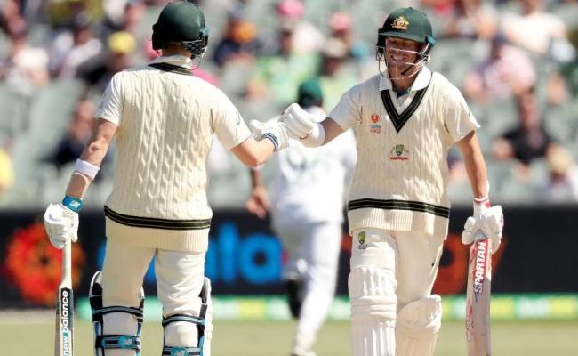 Warner Becomes 12th Australian To Score 7000 Runs In Test cricket - Sakshi