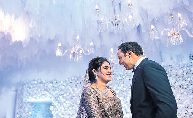 Asad And Anam Mirza Marriage Photos Viral in Social Media - Sakshi
