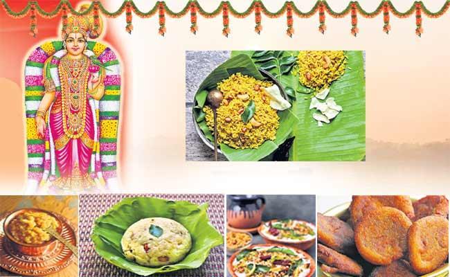 Tamils Margali Prasadam - Sakshi