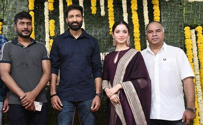 Hero Gopichand New Telugu Movie Regular Shooting Begins - Sakshi