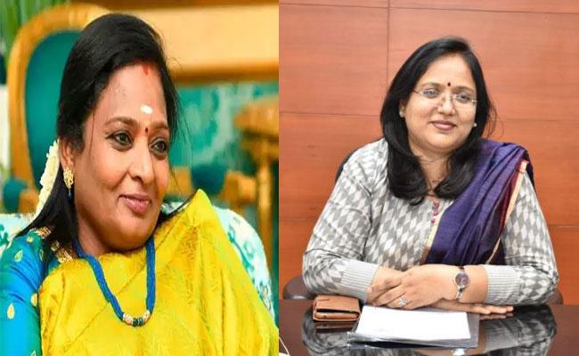 Governor Tamilisai Letter To Congratulating Collector Devasena - Sakshi