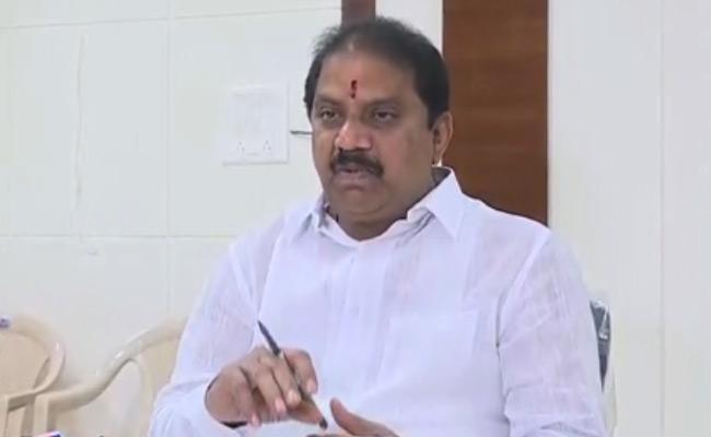 YSRCP MLA Malladi Vishnu Fires On Chandrababu - Sakshi