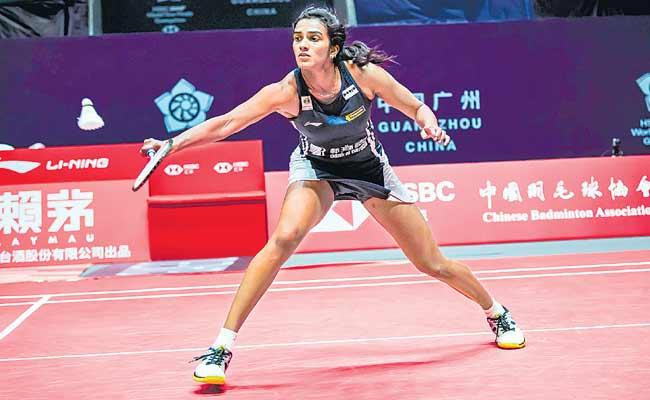 Consolation Win For PV Sindhu Beats He Bing Jiao - Sakshi