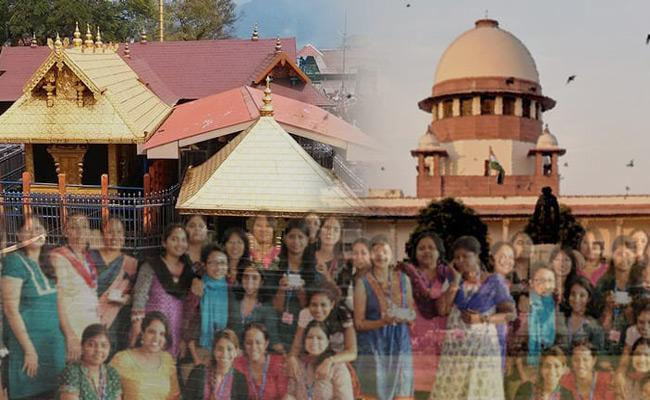 Sabarimala: Supreme Court declines to Pass Any Order - Sakshi