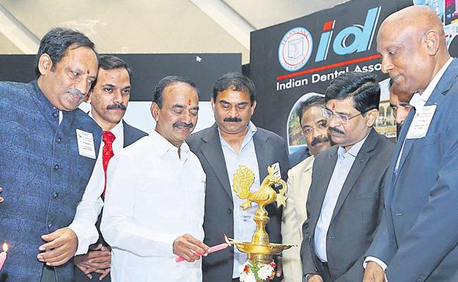Etela Rajender Launches State Dental Conference In Hyderabad - Sakshi