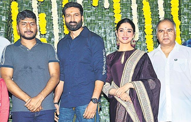 gopichand, sampath nandis new movie launch - Sakshi