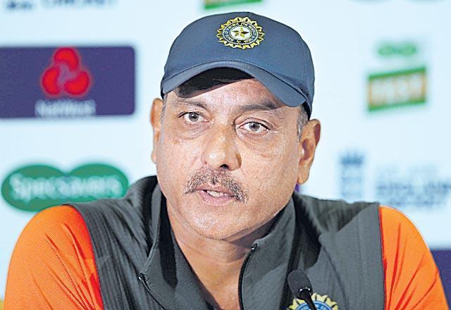 India Coach Ravi Shastri on relationship with BCCI president Sourav Ganguly - Sakshi