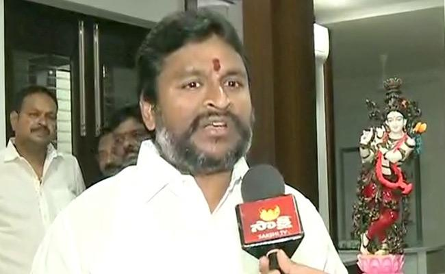 Minister Velampalli Srinivas Comments On Chandrababu - Sakshi