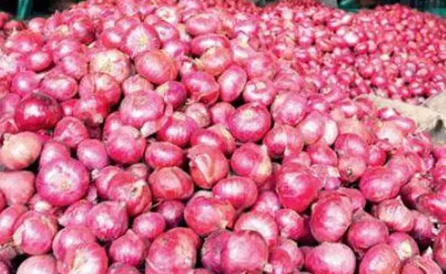 Huge Onion Production Karnataka Man Changed As Karodpathi - Sakshi