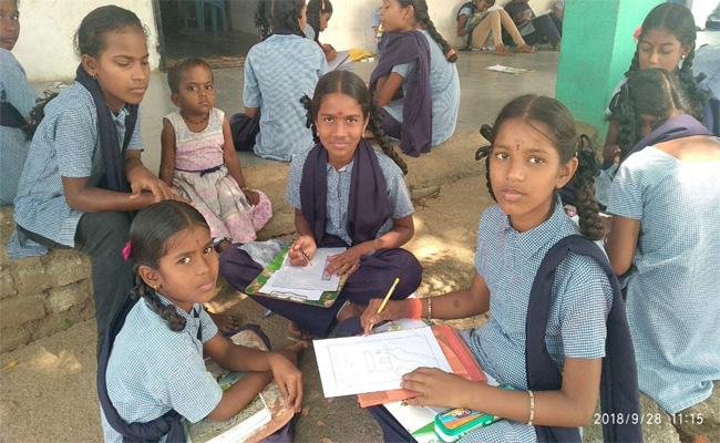 Declining Students in Public Schools - Sakshi