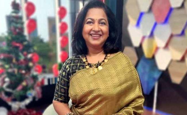 Radhika Sarathkumar To Host Tamil Version KBC - Sakshi
