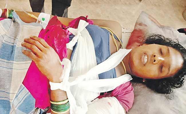 A Man Murder Attempt In Vishaka Agency - Sakshi