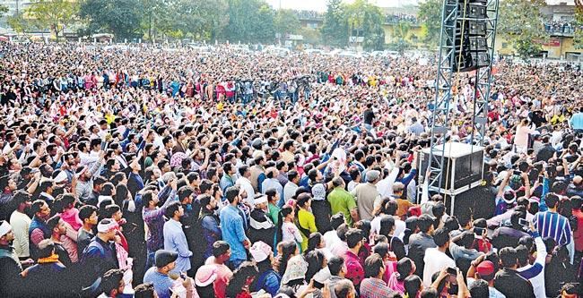Protests continue against amended Citizenship Act - Sakshi