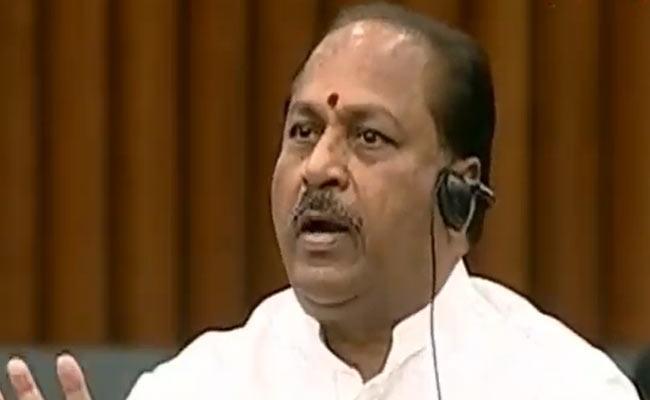 YSRCP MLA Kottu Satyanarayana Fires On TDP - Sakshi
