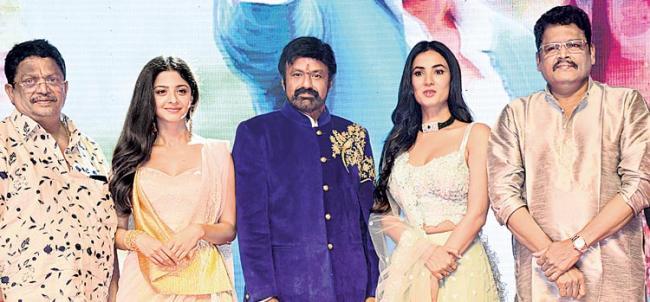 nandamuri balakrishna speech at ruler movie - Sakshi