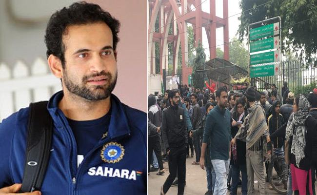 Country And I Concerned About Jamia Students, Tweets Irfan Pathan - Sakshi