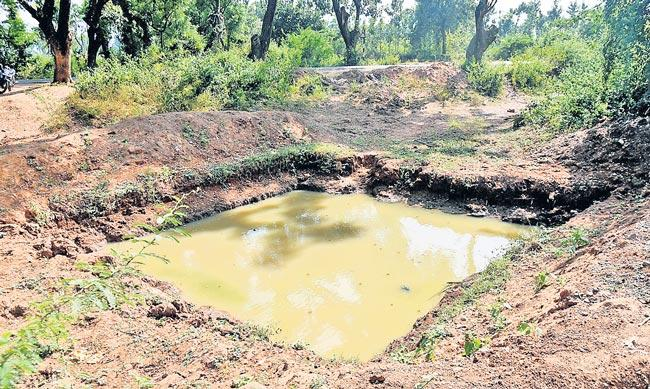 Water in the undergroung on crops blossom - Sakshi