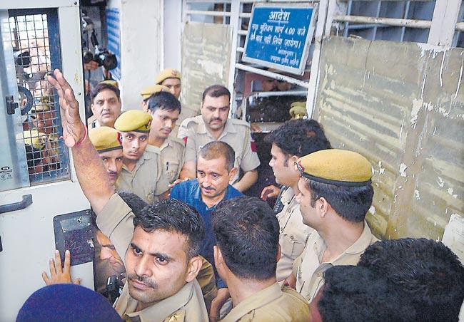 Delhi court convicts ex-BJP MLA Kuldeep Sengar in Unnao case - Sakshi
